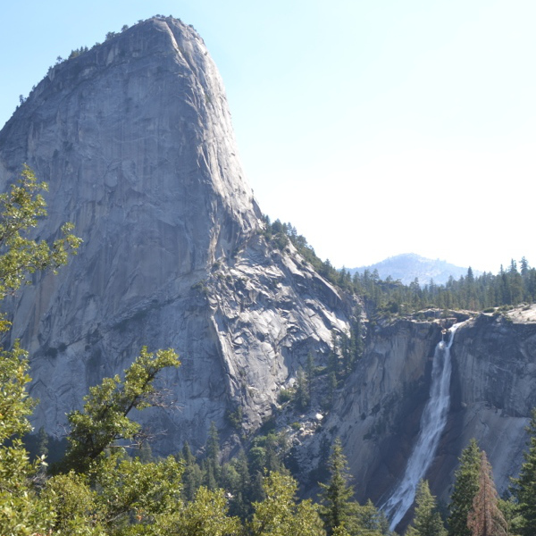 Nevada Fall and Liberty Dome